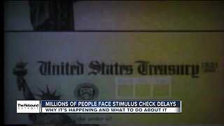 The Rebound Detroit: Millions of people face stimulus check delays