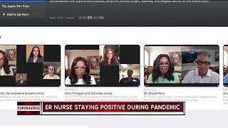 ER Nurse staying positive during pandemic