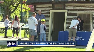 The City of Boise hosts open house at the historic O'Farrell Cabin