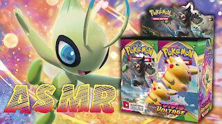 Pack Opening ASMR: Pokémon Vivid Voltage Booster Box!