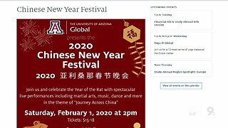 UArizona Global Chinese New Year Festival show canceled due to recent coronavirus concerns