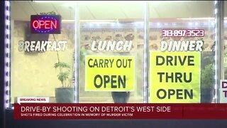 Shots fired during celebration in memory of Detroit murder victim