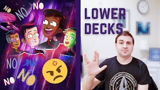 Star Trek: Lower Decks Rant Part 1   Comics, Cartoons, and Coffee