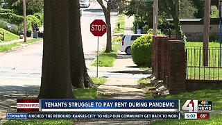 Tenants struggle to pay rent during pandemic