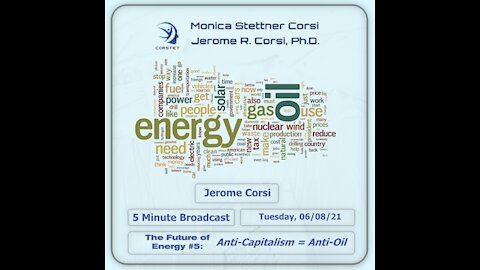 Corstet 5 Minute Overview: The Future Of Energy #5 - Anti-Capitalism = Anti-Oil