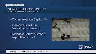 Stimulus check latest