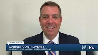 Cabinet Controversy: Indictment player addresses bribery allegations
