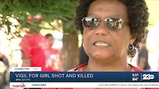 Community comes together to honor 12-year-old girl killed in shooting last week