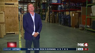 Moving company owner builds solar warehouse