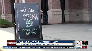 Neighboring Town Center businesses struggle to stay afloat during COVID-19 outbreak