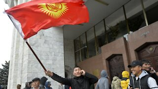 Protesters Occupy Government Buildings In Kyrgyzstan After Election