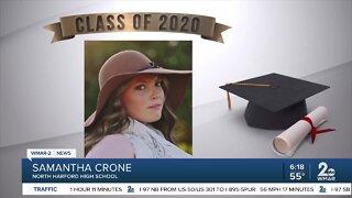 Class of 2020: Samantha Crone