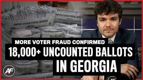 Over 18,000 UNCOUNTED GEORGIA BALLOTS!!!