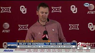 Lincoln Riley Talks OU Defense