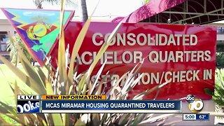 MCAS Miramar to house quarantined passengers