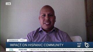Local activist discusses COVID-19 impact on Hispanic community