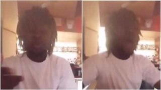 Teenager goes viral after his voice breaks mid-video