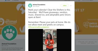 Clear the Shelters event this weekend
