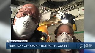 Final day of quarantine for Crystal River couple