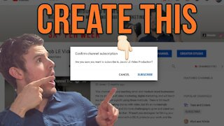 How to Make a Youtube Link that Subscribes to Your Channel 2021