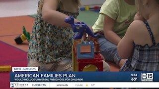 American Families Plan would include free preschool