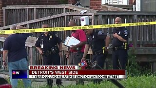 3 shootings kill one, injure five, including 4-year-old child on Detroit's west side