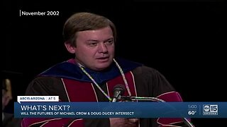 ASU President MIchael Crow talks about rumors of possible retirement