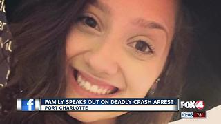 Family speaks out after Port Charlotte deadly crash arrest