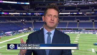 Todd McShay discusses Lions No. 3 overall pick with Brad Galli