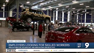 Employers looking for skilled workers