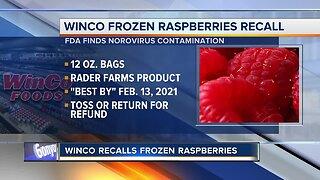 WinCo's frozen raspberries from Washington farm recalled