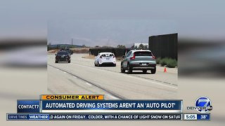AAA testing raises concerns about autopilot features