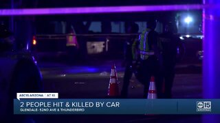 Two motorcyclists hit, killed near 51st Avenue and Thunderbird