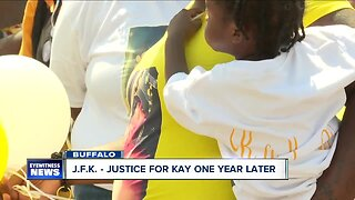 JFK: family searches for answers a year after a mother's murder