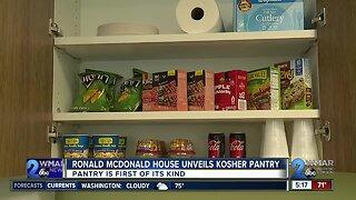 Ronald McDonald House unveils kosher pantry