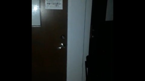Petrifying Poltergeist Caught On Camera In School Building At Night