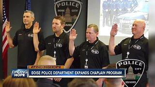 #FINDINGHOPE Boise Police Department expands chaplain program