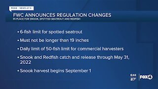 FWC fishing regulation changes coming June 1
