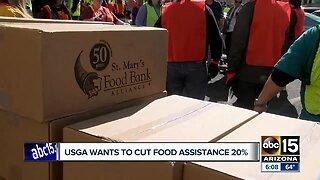 USGA wants to cut food assistance program