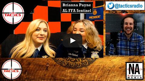 AL FFA Reporter Olivia Powers and Sentinel Brianna Payne Interview