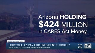 How will Arizona pay for President Trump's order