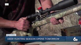 Opening weekend of deer hunting season