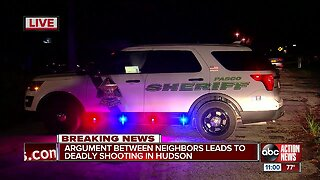 Man shot, killed by neighbor after man attacked woman in Pasco County, deputies say