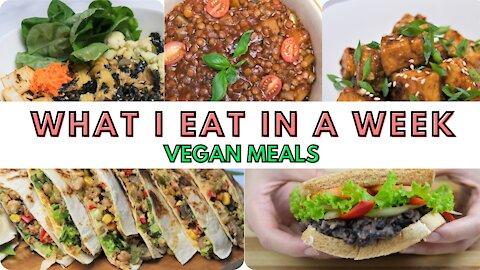 5 Vegan Meals I eat in a Week