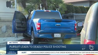 Officer involved shooting in Chula Vista