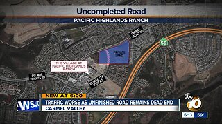Carmel Valley residents demand completion of road