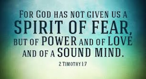 7-11 Online Home Church is A RHEMA Word On Dealing With Fear & Anxiety!