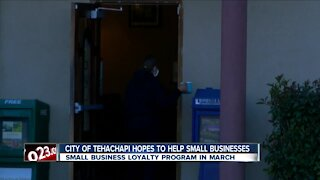 City of Tehachapi looking to help struggling small businesses through new program