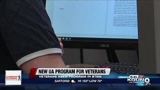 UA new stem veterans program