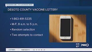 DeSoto County vaccine lottery